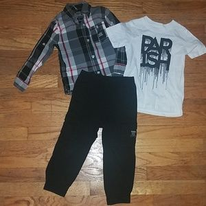 Other - Parrish nation Boys 3 pc. Outfit